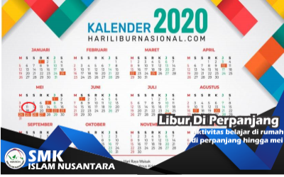 Libur Sekolah Diperpanjang Hingga 11 Mei 2020